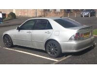 2005 LEXUS IS 200 SE AUTO MOT END JANUARY 2018