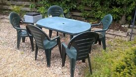 Table & Chairs Patio Set
