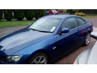 beautiful 3 series coupe,very good condition, low mileage for yr, car mot'd mar 2018 & just serviced