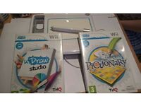 Wii uDraw Game Tablet + Pictionary & uDraw Studio (2) games