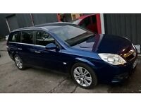 VECTRA ESTATE ELITE58 PLATE, DIESEL AUTOMATIC , SATNAV LEATHER , HIGH MILES £1400 PX WELCOME