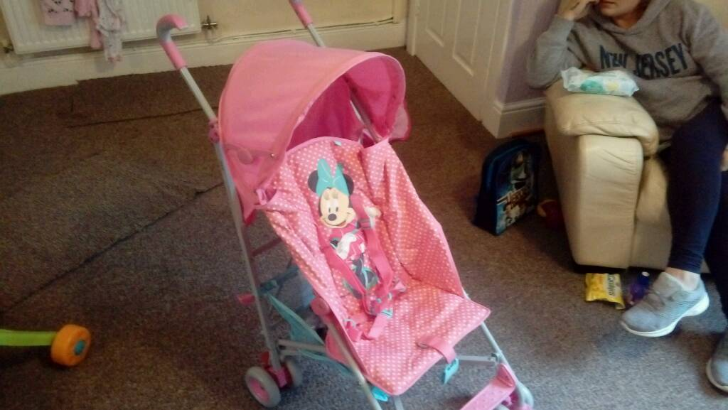 Brand new Mothercare minnie mouse stroller