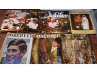 Royal family tribute magazines