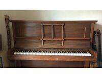 Upright Hopkinson piano