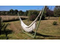 Large Double Hammock with Iron Frame