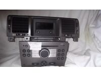 Vauxhall CD30 cd player with paired screen and code