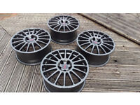 "18"" OZ Superturismo Wheels BMW (e36 e46 e39 E60 E90 5x120 Rims Alloys BBS Racing)"