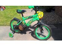 """Ninja Turtles 12""""Bike and Helmet"""