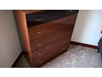 SOLID WOOD CHEST OF DRAWERS - DELIVERY POSSIBLE