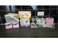 Breast pumps and steralizer (please read description for full details)