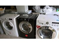 black hoover Washing machine...Mint free delivery