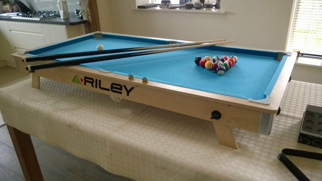 Riley Table Top Pool Table Rollaway For Easy Storage In - Under pool table storage