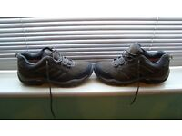 KARRIMOR Vibram walking boots, Aspen Low, Frame Flex Chassis, Weathertite BLACK SEA worn once 11/12