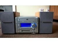 JVC Hi-Fi system with 3 Disc CD player
