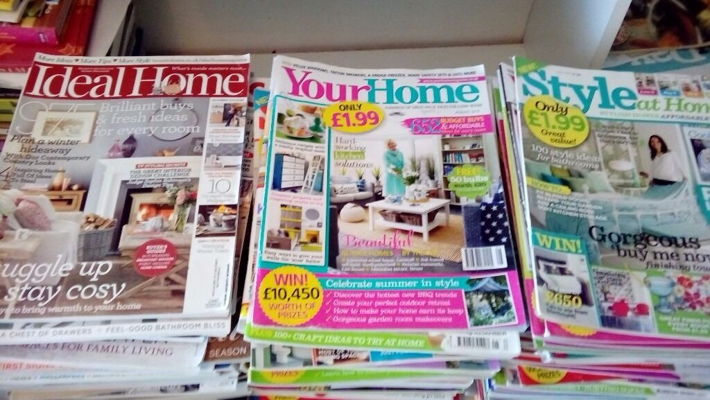 160 magazines style, your home ideal home style