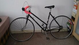 Falcon Ladies Road Bike. Vintage Road Bike. Fast Lightweight Retro Bike