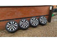 """Volkswagen Seattle Alloy Wheels Ronal 17"""" GTD 5K0601025R VW Golf"""