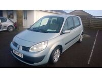 renault scenic dynamique 2004 registration, 1.5 turbo diesel , approx 80,000 miles , new mot