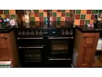 Rangemaster 110 electric twin over with separate grill and 5 hob