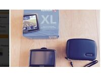 TomTom XL IQ Routes Edition + FREE TomTom Hard Case - As New