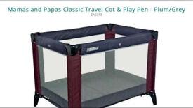 Mamas and Papas Travel cot