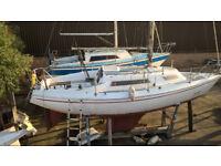 27' sailing boat
