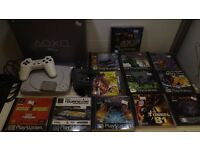 Boxed PSone console 12 games 1 controller, mem card all wires 1 months warranty