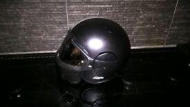 Used streetfighter motorcycle helmet