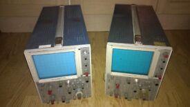 x2 Telequipment D83 Oscilloscopes