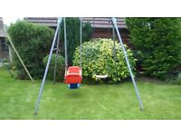 TP Swing and Rock a Boat double swing set