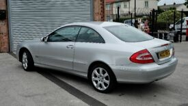 2004 Mercedes CLK270 W209 2.7 turbo diesel, very good condition, 79,600 miles, full service history