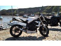 Triumph Street Triple 2012 low mileage, immaculate with lots of extras