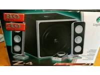 Logitech 2.1 speakers z-4