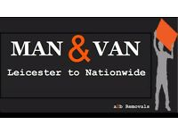 Man and Van Cheap Removals House - Flats - Commercial and Single Items delivery/Hire