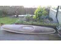Kayak mould for BAT trainer