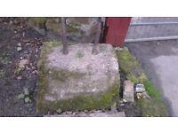 old vintage stone