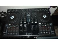 TRAKTOR KONTROL S4 DJ CONTROLLER ** £300 ** All CABLES & POWER SUPPLY INCLUDED