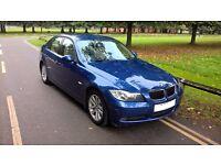 BMW 320d SE, , Gleaming Metallic Blue, 4 door Manual, 2 owners, 12m MOT, MSport kit, lighting pack
