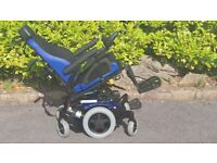 QUICKIE M2 6 wheel Powerchair ELECTRIC SEAT TILT. FULL JAY COMFORT SEATING