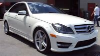 2012 Mercedes-Benz C-Class C350 4MATIC PANORAMIC ROOF NAVI BACK