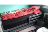 Kids single bed, with Simba mattress, great condition