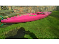 Pyranha Stunt Bat Kayak/ Canoe Excellent Condition