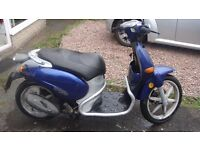 ITALJET TORPEDO 50cc 2004 RUNNER SPARES OR REPAIR NO MOT CAT-C