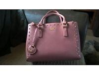 womens pink designer handbag
