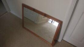 Modern Pine Mirror