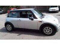 AUTO 2003 LOW MILEAGE MINI COOPER, VERY CLEAN INTERIOR, SUPERB ENGINE, LADY OWNER, REDUCED, BARGAIN