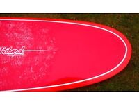 """Longboard 9'0"""". Tribord excellent condition, used once with fins and leash"""