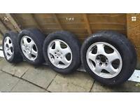 "15"" Vauxhall alloy wheels 5 stud zafira vectra Astra etc"