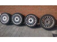volvo s60 alloys tyres spare repare
