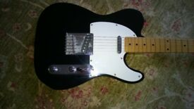 1991/92 Squier Telecaster, Made in Korea, silver logo